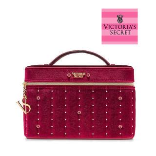 ヴィクトリアズシークレット(Victoria's Secret)の【セール】ヴィクトリアシークレット バニティ  ワインレッド(メイクボックス)