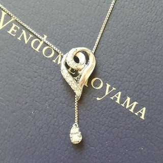 Vendome Aoyama - 限定品 vandome aoyama プラチナ ダイヤモンド ネックレス