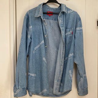 Supreme - supreme Jacquard Denim Shirt