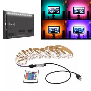 大人気!取付超かんたん^_^ 液晶テレビ RGB LED 間接照明 バックライト(蛍光灯/電球)