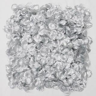 フラワーシャワー 造花 結婚式 シルバー 銀 1000枚 花びら ウェディング(ウェディングドレス)