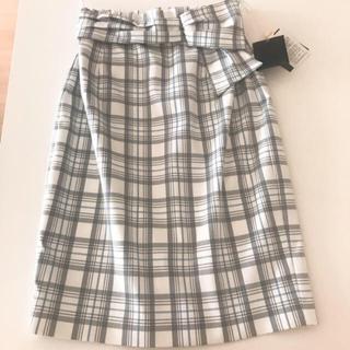 JUSGLITTY - 【新品】ジャスグリッティー  チェックタイトスカート