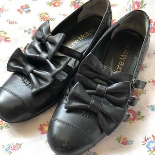 ジェーンマープル(JaneMarple)のJane Marple  3連リボン靴(ローファー/革靴)