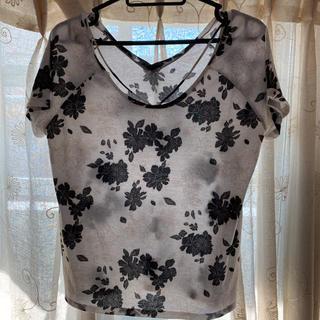 スパイラルガール(SPIRAL GIRL)のスパイラルガール 花柄 トップス(Tシャツ(半袖/袖なし))