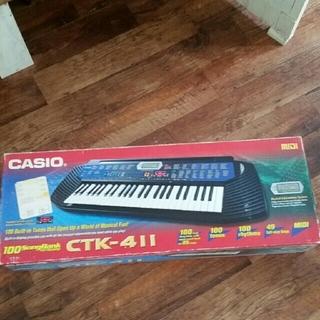 カシオ(CASIO)のCASIO CTK-411 電子ピアノ キーボード(電子ピアノ)