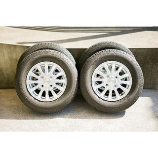 BRIDGESTONE - N-VANのタイヤ4本セット(ホイール付き)(美品)