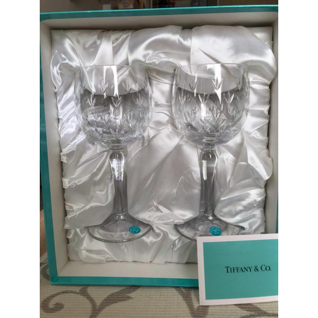 Tiffany & Co.(ティファニー)のティファニー ワイングラス ペア インテリア/住まい/日用品のキッチン/食器(グラス/カップ)の商品写真
