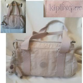 kipling - Kipling ショルダーバッグ/トートバッグ ベージュ