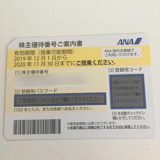 ANA(全日本空輸) - ANA(全日空)株主優待券