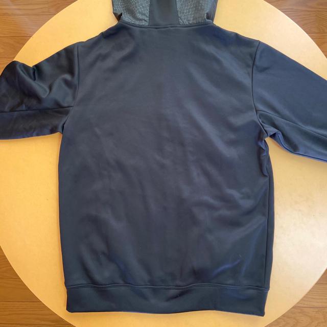 Rawlings(ローリングス)のRawlingsフーデットパーカーシャツ AOS6F13 ブラック M スポーツ/アウトドアの野球(ウェア)の商品写真