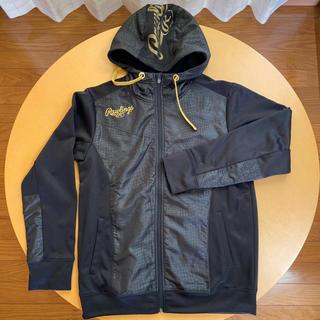 Rawlings - Rawlingsフーデットパーカーシャツ AOS6F13 ブラック M