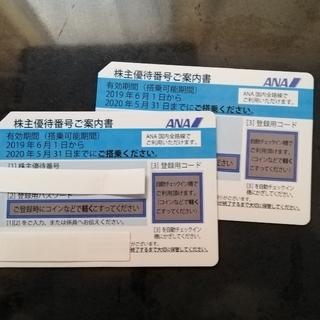 ANA(全日本空輸) - 匿名配送 ANA 株主優待券2枚