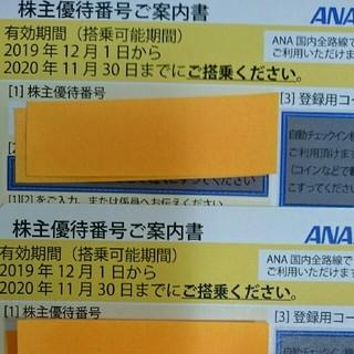 ANA(全日本空輸) - 最新 ANA 株主優待2020/11/30まで