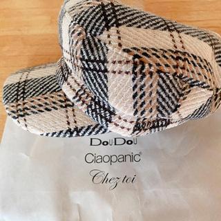 ドゥドゥ(DouDou)のdoudou キャスケット帽(キャスケット)
