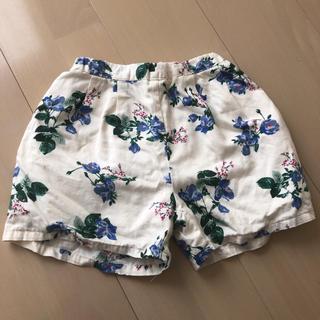 petit main - プティマイン  花柄ショートパンツ サイズ120