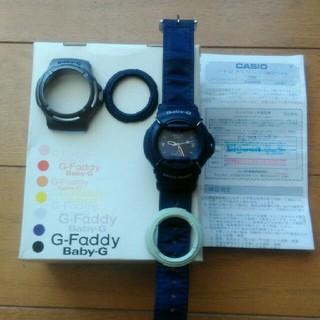 ベビージー(Baby-G)のCASIO Baby-G BG-30 ブルー(腕時計)