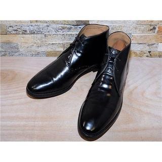 コールハーン(Cole Haan)のコールハーン GRAND OS プレーントゥチャッカブーツ 黒 27,5cm(ブーツ)