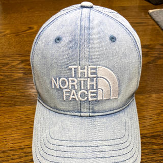 THE NORTH FACE - 【新品未使用】ノースフェイス デニムキャップ ブリーチデニム NN02044