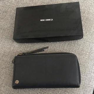 【値下げ】モノコムサ  財布(長財布)