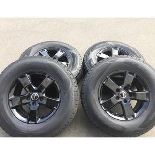 DUNLOP - ジープ ラングラー スタッドレスタイヤ セット  265/70r17 SJ8