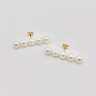 Akoya Pearlpierced earring アコヤパール ピアス