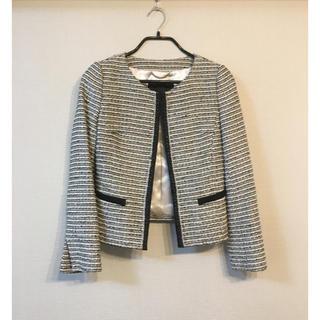 UNTITLED - 【お値下げ】アンタイトル  美品  上品 ツイードジャケット  ジャケット