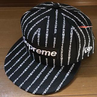 Supreme - supreme  2019ss  new era キャップ 7 5/8