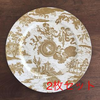 ザラホーム(ZARA HOME)の皿 アンダープレート 2枚セット ZARA HOME おしゃれ(食器)