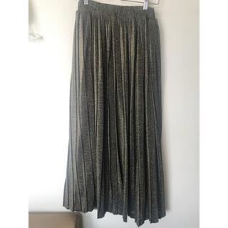 LOWRYS FARM - ラメプリーツスカート