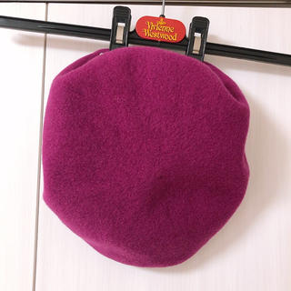 Vivienne Westwood - 本物 ヴィヴィアンウエストウッド ベレー帽 オーブマーク