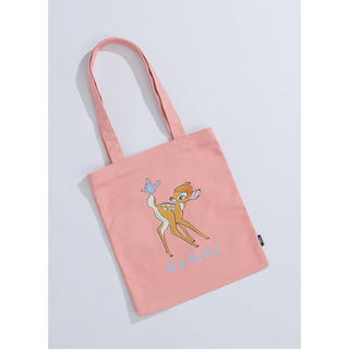 Disney - Gracegift xディズニー 台湾限定 バンビのトートバッグ