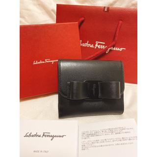 Salvatore Ferragamo - 【定価6万4900円】フェラガモ リボン財布