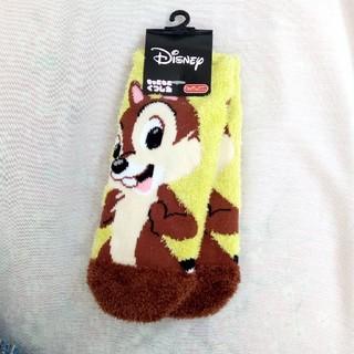 ディズニー(Disney)のディズニー もこもこ靴下 チップとデール(ソックス)