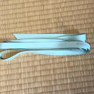 グッチ(Gucci)のGUCCI リボンテープ 切り売り 3m グリーン (各種パーツ)