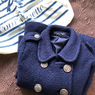 ポンポネット(pom ponette)の【Pom Ponette Juniorポンポネットジュニア】 Pコートジャケット(ジャケット/上着)