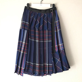 sacai - ♡サカイ♡2018-19AW♡グレンチェックラップスカート♡