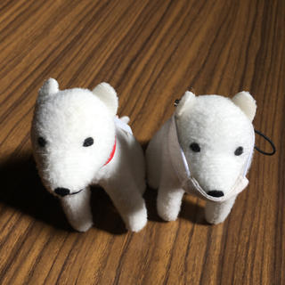 Softbank - しゃべるお父さん犬ストラップ 2個セット