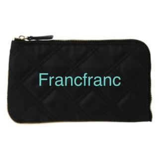 Francfranc - Francfranc  ティッシュ&マスクポーチ  ブラック