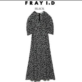 FRAY I.D - フレイアイディー カシュクールフラワーワンピース