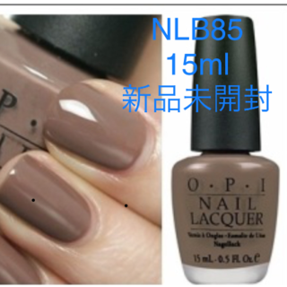 OPI - OPI NLB85 オーバー ザ トープ 上品なブラウントープ 新品未開封