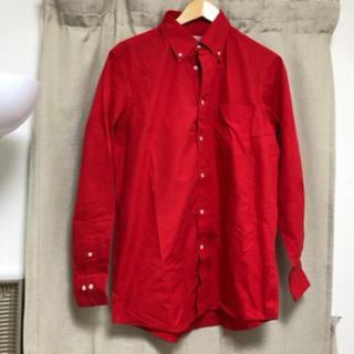 赤 シャツ(シャツ/ブラウス(長袖/七分))