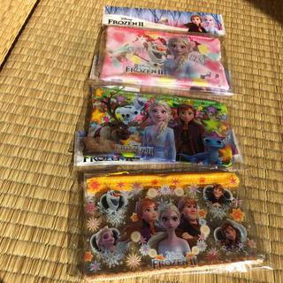 ディズニー(Disney)のアナと雪の女王クリアポーチ 3個(その他)