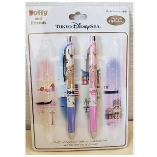 Disney - ダッフィー ゲルインキ水性ボールペン(2本セット)
