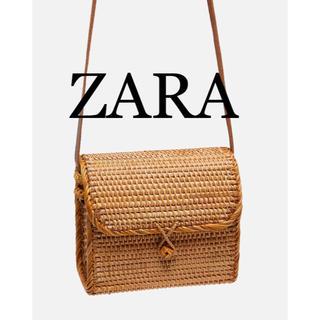 ZARA - ZARA ザラ 新品 ミノディエール  カゴ ショルダーバッグ