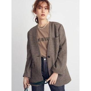 ミラオーウェン(Mila Owen)の新品!ミラオーウェン ハイメッシュロゴTシャツ カーキ(Tシャツ(半袖/袖なし))