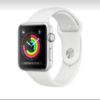 アップルウォッチ(Apple Watch)のApple Watch Series 3(GPS)- 38mm (腕時計(デジタル))