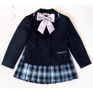ポンポネット(pom ponette)の【新品同様】★ポンポネット★卒園式★入学式★スーツ★★120(ドレス/フォーマル)