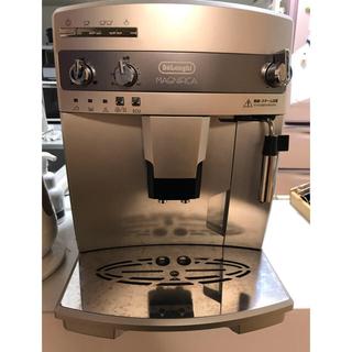 デロンギ(DeLonghi)のデロンギ マグニフィカ 全自動コーヒーメーカー ESAM03110S(エスプレッソマシン)