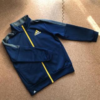 adidas - アディダス ジャージ  上 130cm 紺×黄色