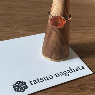 アッシュペーフランス(H.P.FRANCE)のtatsuo nagahata サンストーン K10 リング(リング(指輪))